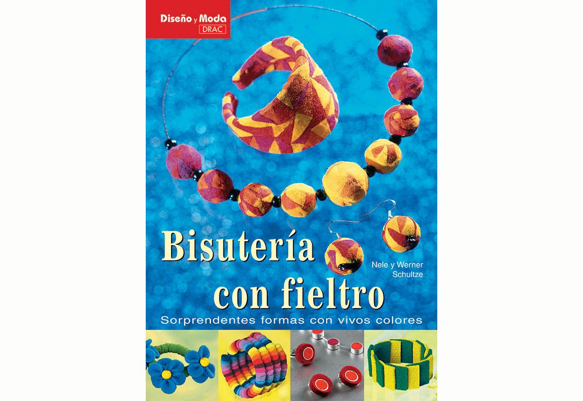 RD49001 Libro CUENTAS Y ABALORIOS FIELTRO Bisuteria con Fieltro El drac