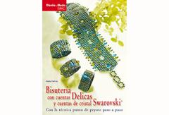 RD49004 Libro SWAROVSKI Bisuteria con cuentas delicas y cuentas de cristal swarovski El drac