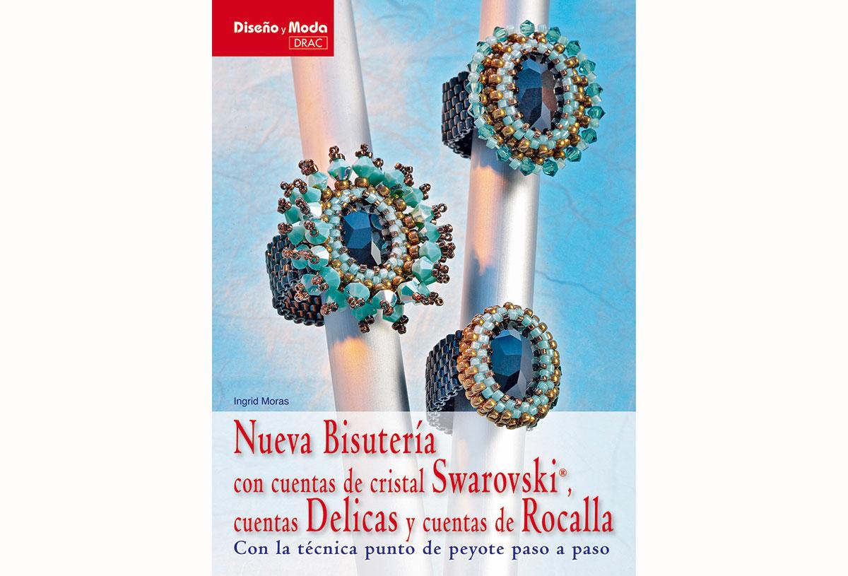 RD49006 Libro SWAROVSKI Nueva bisuteria con cuentas de cristal Swarovski cuentas delicas y cuentas de rocalla El drac
