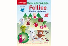 RD49014 Libro FIELTRO Nuevos munecos de fieltro felties El drac