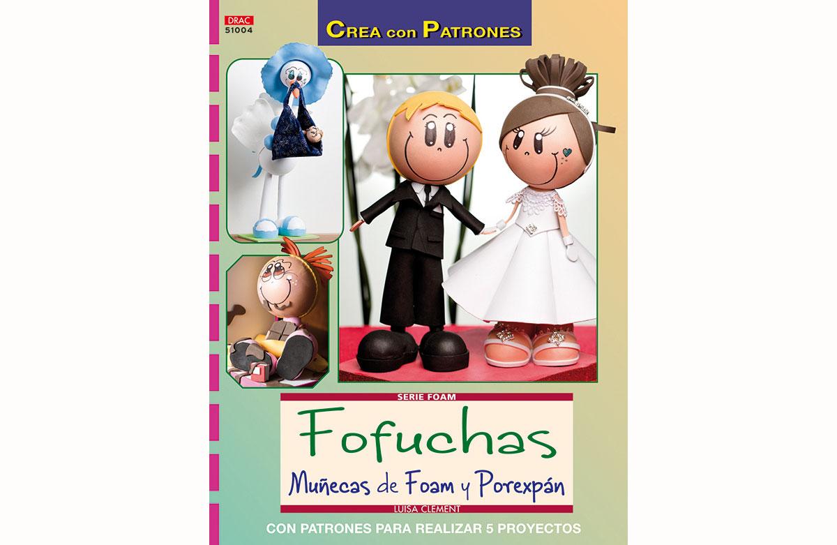 RD51004 Revista FOAM Fofuchas munecas de foam y porexpan El drac