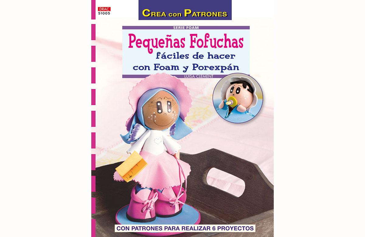 RD51005 Revista FOAM Pequenas fofuchas faciles de hacer con foam y porexpan El drac
