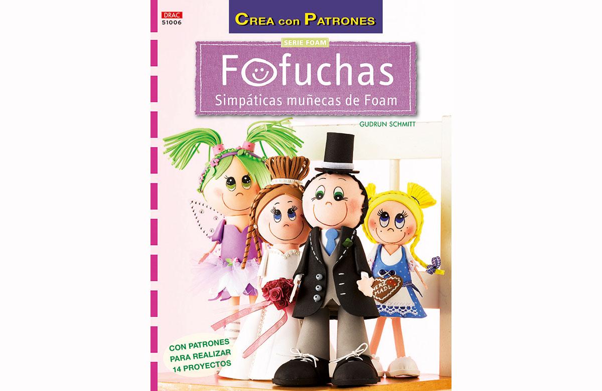 RD51006 Revista FOAM Fofuchas simpaticas munecas de foam El drac