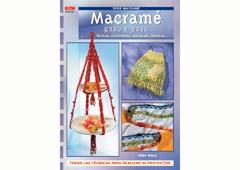 RD52001 Revista MACRAME Macrame paso a paso Bolsos cinturones pulseras llaveros El drac