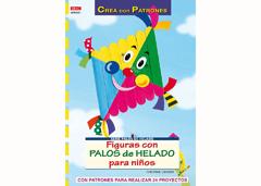 RD69001 Revista NINOS Figuras con palos de helado para ninos El drac