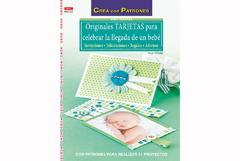 RD90003 Revista TARJETAS Originales tarjetas para celebrar la llegada de un bebe El drac