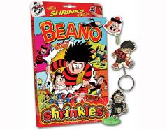 S1060-03 Kit plastico magico Beano con 6 disenos y accesorios y accesorios Shrinkles