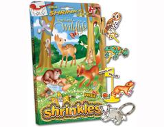 S1060-04 Kit plastico magico British Wildlife con 6 disenos y accesorios y accesorios Shrinkles