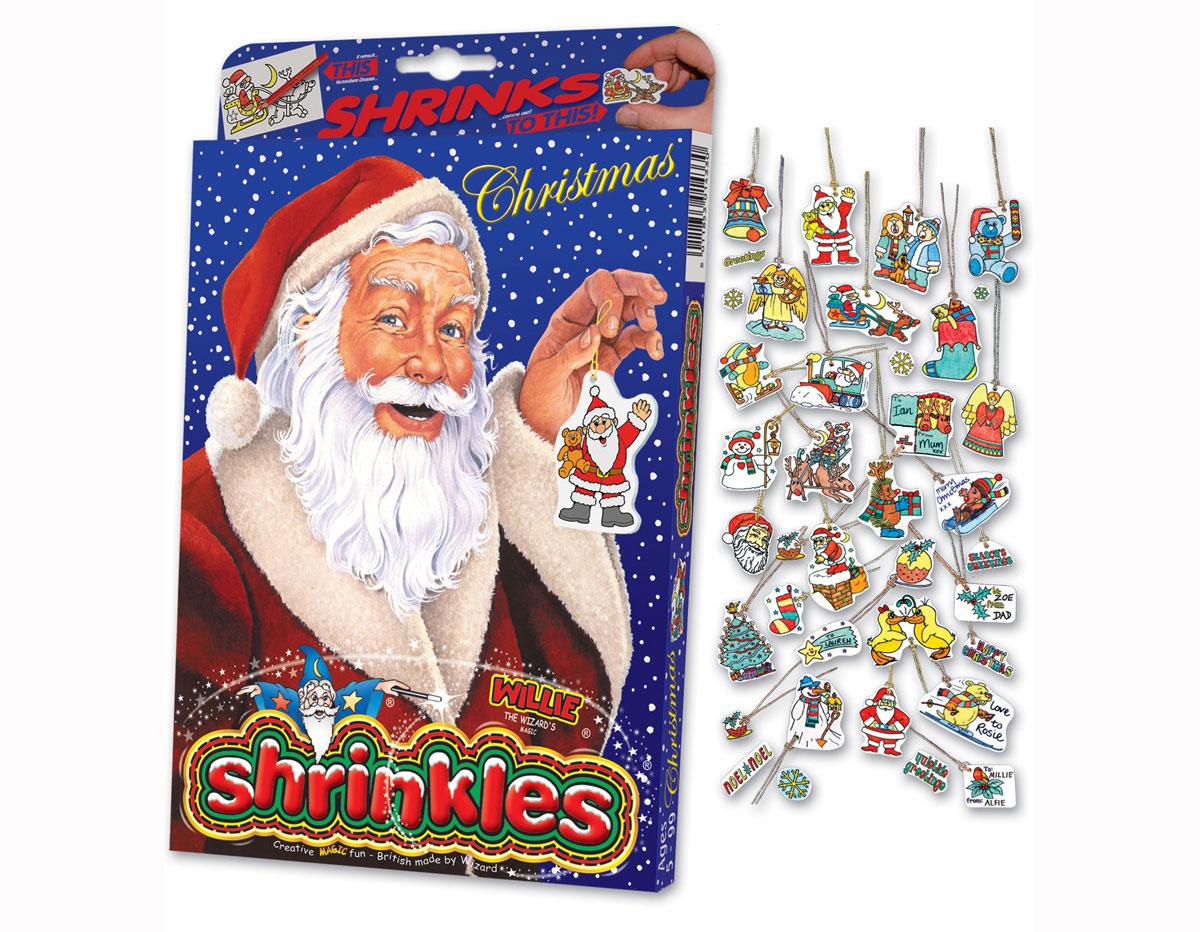 S1060-06 Kit plastico magico Christmas con 6 disenos y accesorios y accesorios Shrinkles