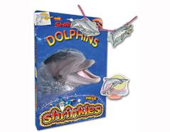S1060-13 Kit plastico magico Dolphins con 6 disenos y accesorios Shrinkles