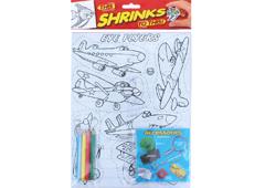 S1060-16 Kit plastico magico Eye Fliers con 6 disenos y accesorios Shrinkles