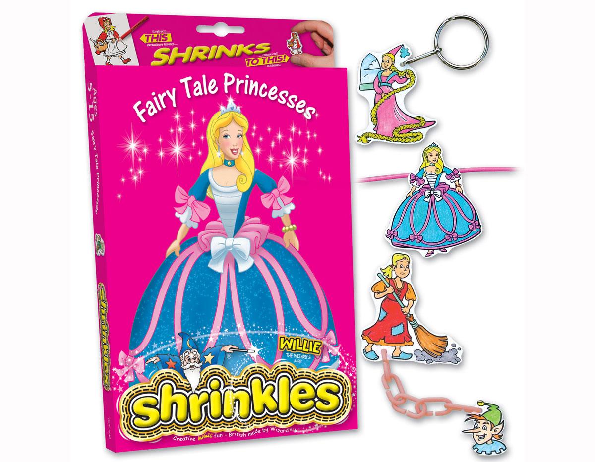 S1060-17 Kit plastico magico Fairy Tales con 6 disenos y accesorios Shrinkles