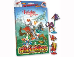 S1060-26 Kit plastico magico Knights con 6 disenos y accesorios Shrinkles