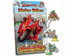 S1060-29 Kit plastico magico Motorbikes con 6 disenos y accesorios Shrinkles