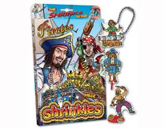 S1060-31 Kit plastico magico Pirates con 6 disenos y accesorios Shrinkles