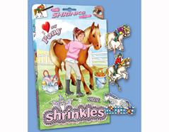 S1060-33 Kit plastico magico Ponies con 6 disenos y accesorios Shrinkles