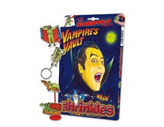 S1417 Kit plastico magico Vampires Vault - glow in the dark con multiples disenos y accesorios Shrinkles
