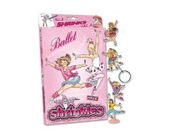 S1420 Kit plastico magico Ballet con multiples disenos y accesorios Shrinkles