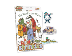 S1421 Kit plastico magico Wind in the Willows con multiples disenos y accesorios Shrinkles