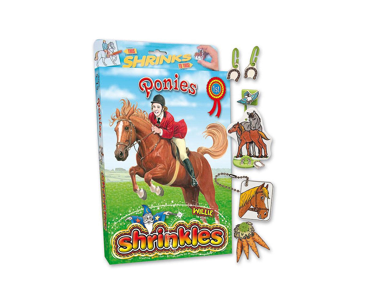 S1424 Kit plastico magico Ponies con multiples disenos y accesorios Shrinkles
