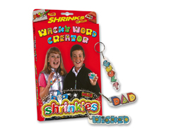 S1431 Kit plastico magico Wacky Word Creator con multiples disenos y accesorios Shrinkles