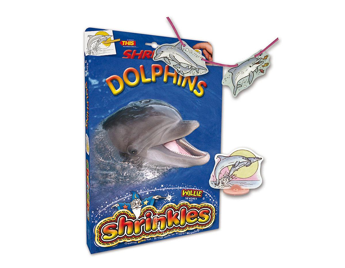 S1434 Kit plastico magico Dolphins con multiples disenos y accesorios Shrinkles