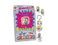 S1436 Kit plastico magico Jacqueline Wilson s Best Friends con multiples disenos y accesorios Shrinkles