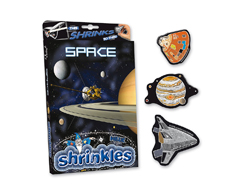 S1437 Kit plastico magico Space con multiples disenos y accesorios Shrinkles
