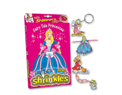 S1440 Kit plastico magico Fairy Tale Princesses con multiples disenos y accesorios Shrinkles