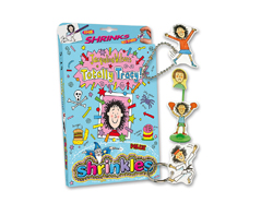 S1441 Kit plastico magico Jacqueline Wilson s Totally Tracy con multiples disenos y accesorios Shrinkles