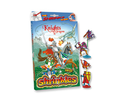 S1446 Kit plastico magico Knights and Dragons con multiples disenos y accesorios Shrinkles