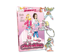 S1451 Kit plastico magico Girlz With Bling con multiples disenos y accesorios Shrinkles