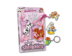 S1455 Kit plastico magico Playful Puppies con multiples disenos y accesorios Shrinkles