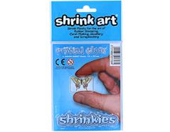 S1703 Hojas lisas plastico magico crystal clear Shrinkles