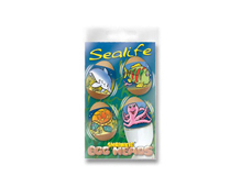 S1805 HOJAS SHRINKIE Egg Heads Sealife 12u Shrinkles