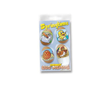 S1806 HOJAS SHRINKIE Egg Heads Springtime 12u Shrinkles