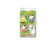 S1807 HOJAS SHRINKIE Egg Heads World Cup Football 12u Shrinkles
