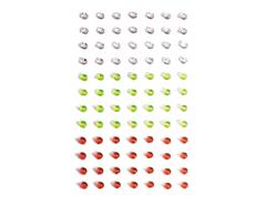 S1927 Piedras deco adhesivas colores surtidos Shrinkles