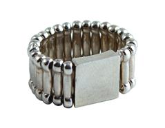 SFA-18 Bases para anillos metalicos plateados Epiphany Crafts