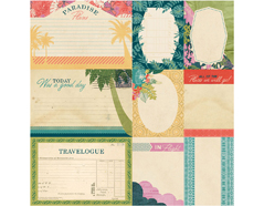 SPA-4854 Tarjetas anotaciones diarias SOUTH PACIFIC Basic Grey