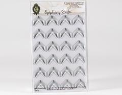 SSA-72 Cabuchones epoxi autoadhesivos flecha transparente Epiphany Crafts
