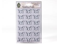SSA-73 Cabuchones epoxi autoadhesivos mariposa transparente Epiphany Crafts