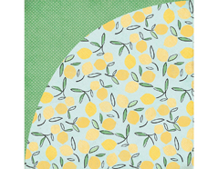 SUN-4962 Papel doble cara SUN KISSED Fresh Squeezed Basic Grey