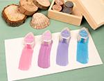 TBD-100-002 Set 4 almohadillas de tinta BRILLANCE opaca tonos joya efecto nacarado Brilliance - Ítem3