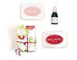 TBD-100-005 Set 4 almohadillas de tinta BRILLANCE opaca dos tonos efecto nacarado Brilliance - Ítem3