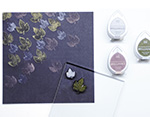 TBD-100-006 Set 4 almohadillas de tinta BRILLANCE opaca planetario efecto nacarado Tsukineko - Ítem2