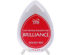 TBD-23 Tinta BRILLIANCE color rojo cohete efecto nacarado Brilliance