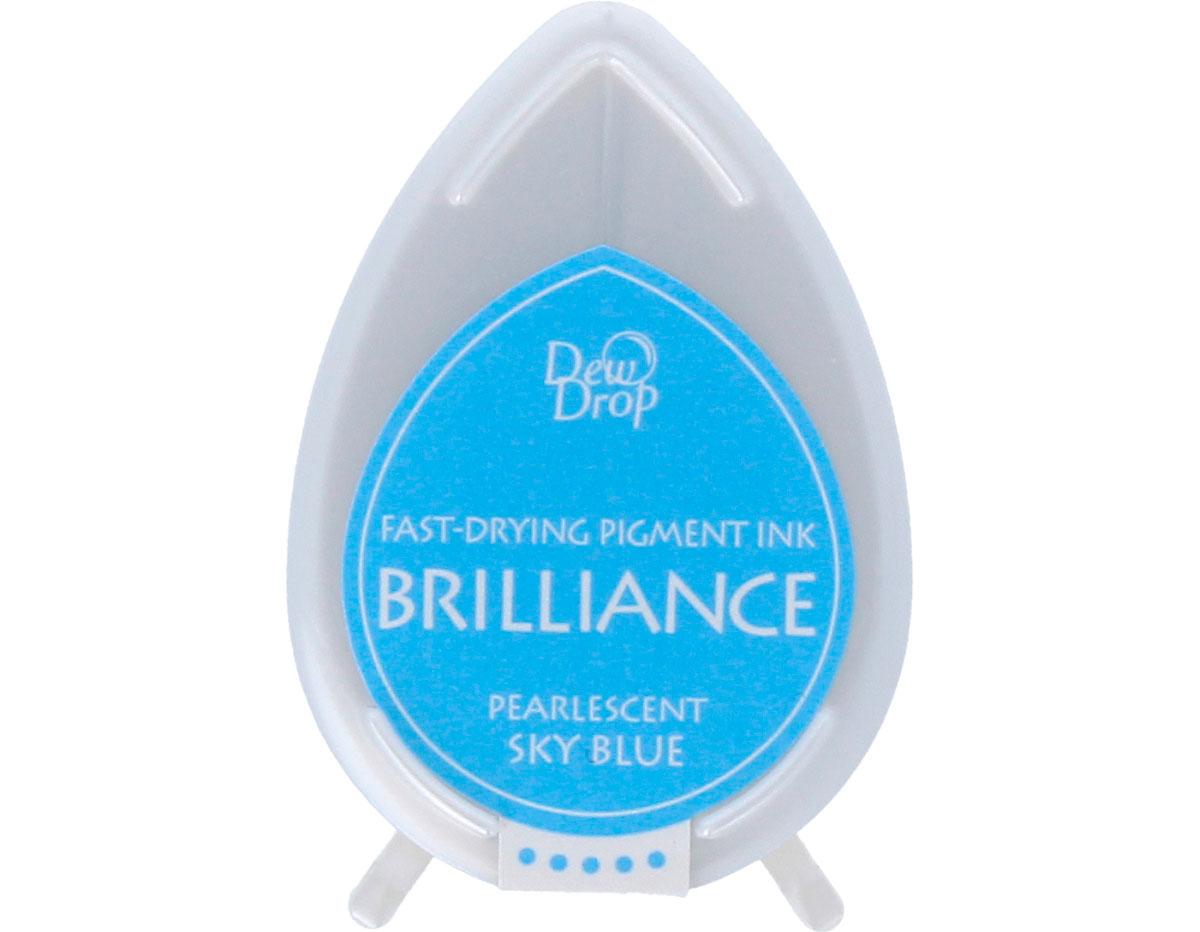 TBD-38 Tinta BRILLIANCE color azul cielo efecto nacarado Brilliance