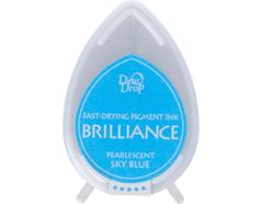 TBD-38 Tinta BRILLIANCE color azul cielo efecto nacarado Brilliance - Ítem