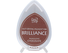 TBD-76 Tinta BRILLIANCE color chocolate perlado efecto nacarado Brilliance